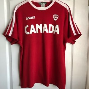 Roots Canada 30 Anniversary Men's T-Shirt Size S